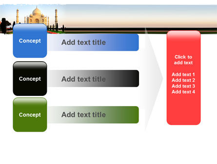 Taj Mahal PowerPoint Template Slide 12