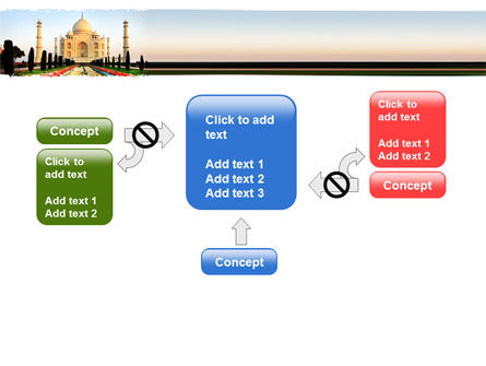 Taj Mahal PowerPoint Template Slide 13