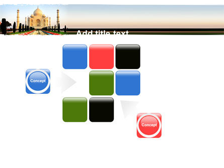Taj Mahal PowerPoint Template Slide 16