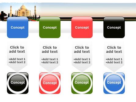 Taj Mahal PowerPoint Template Slide 18