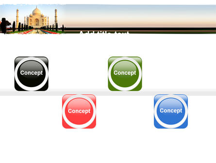Taj Mahal PowerPoint Template Slide 19