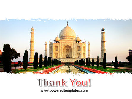 Taj Mahal PowerPoint Template Slide 20