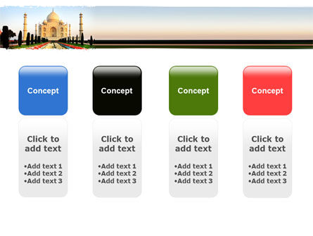 Taj Mahal PowerPoint Template Slide 5