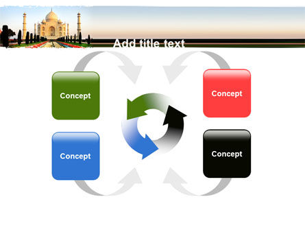 Taj Mahal PowerPoint Template Slide 6