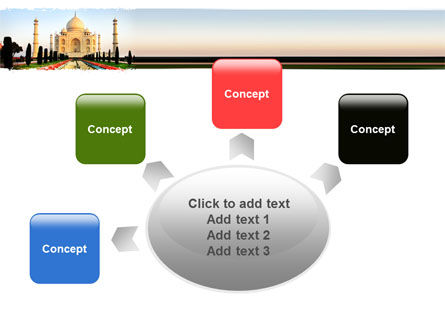 Taj Mahal PowerPoint Template Slide 7