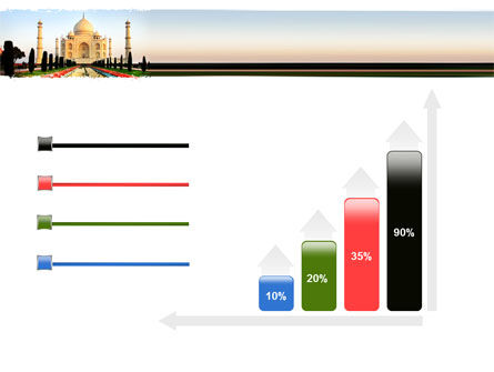 Taj Mahal PowerPoint Template Slide 8