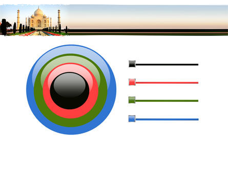 Taj Mahal PowerPoint Template Slide 9