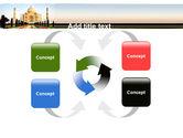 Taj Mahal PowerPoint Template#6