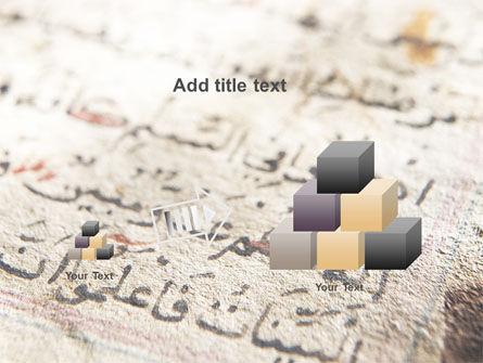 Arabic PowerPoint Template Slide 13