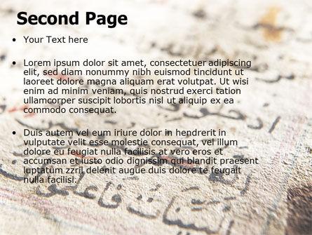 Arabic PowerPoint Template Slide 2