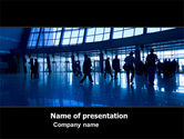 People: Busy Life PowerPoint Template #05586