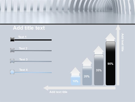 Gray Tunnel PowerPoint Template Slide 8