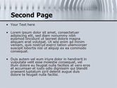 Gray Tunnel PowerPoint Template#2