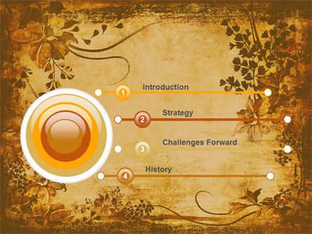 Vegetal PowerPoint Template, Slide 3, 05589, Abstract/Textures — PoweredTemplate.com