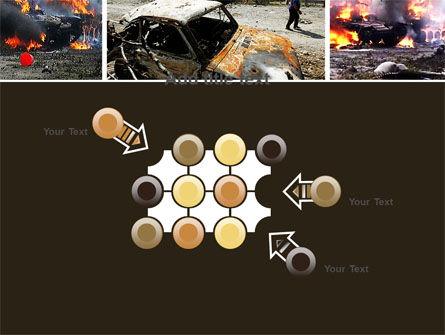 War in Ossetia PowerPoint Template Slide 10