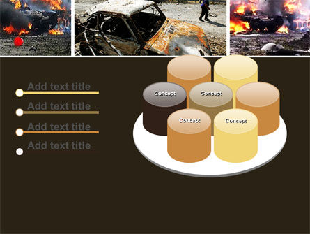 War in Ossetia PowerPoint Template Slide 12