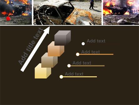 War in Ossetia PowerPoint Template Slide 14