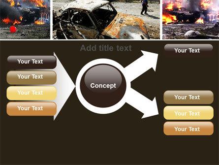 War in Ossetia PowerPoint Template Slide 15