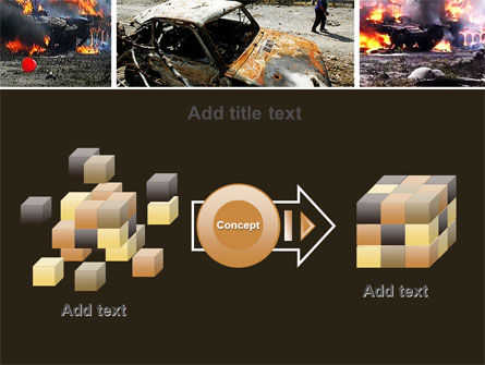 War in Ossetia PowerPoint Template Slide 17