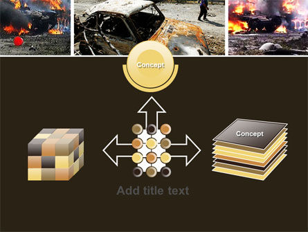 War in Ossetia PowerPoint Template Slide 19