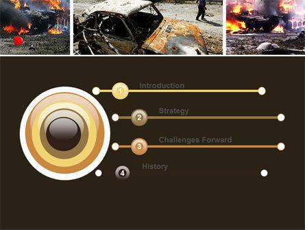 War in Ossetia PowerPoint Template, Slide 3, 05595, Military — PoweredTemplate.com