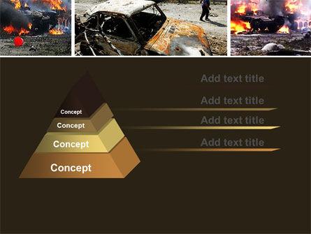 War in Ossetia PowerPoint Template, Slide 4, 05595, Military — PoweredTemplate.com