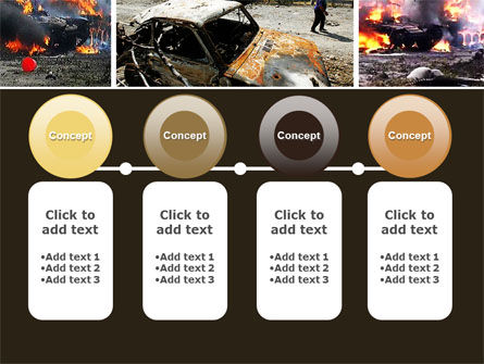 War in Ossetia PowerPoint Template Slide 5