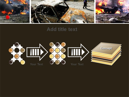 War in Ossetia PowerPoint Template Slide 9