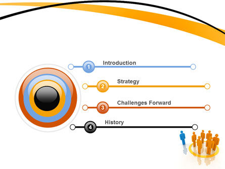 Outsider PowerPoint Template, Slide 3, 05597, Careers/Industry — PoweredTemplate.com