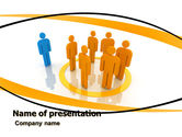 Careers/Industry: Outsider PowerPoint Template #05597