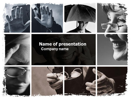 Business: Non-Verbal Signs In Business Communication PowerPoint Template #05598