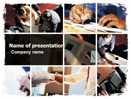 Successful Business PowerPoint Template, 05600, Business — PoweredTemplate.com