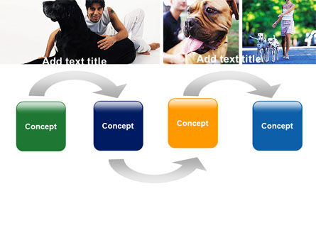 Dogs PowerPoint Template, Slide 4, 05601, Animals and Pets — PoweredTemplate.com