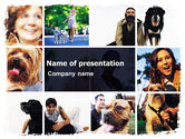 Animals and Pets: Dogs PowerPoint Template #05601