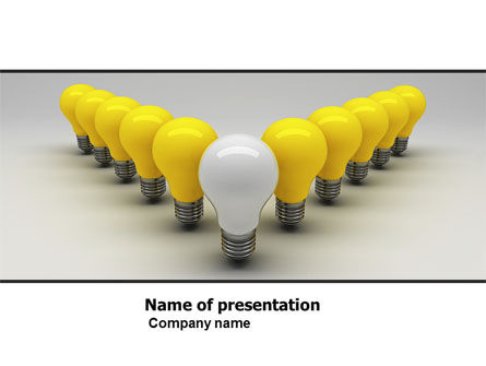 Business Concepts: Stand Out PowerPoint Template #05602