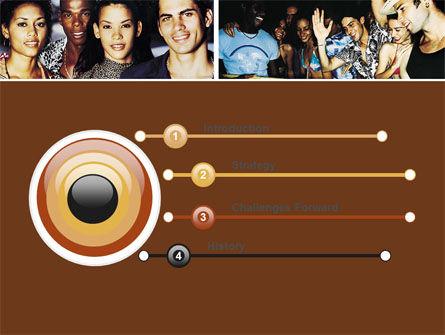 Latin American Music PowerPoint Template, Slide 3, 05604, People — PoweredTemplate.com