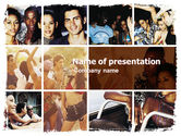 People: Latin American Music PowerPoint Template #05604