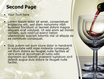 Wine PowerPoint Template Slide 2