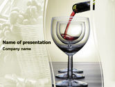 Wine PowerPoint Template#1