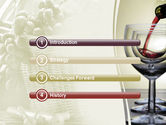 Wine PowerPoint Template#3