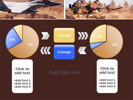War Conflicts Collage PowerPoint Template Slide 16