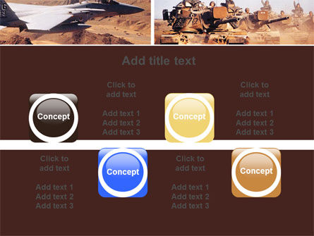 War Conflicts Collage PowerPoint Template Slide 18