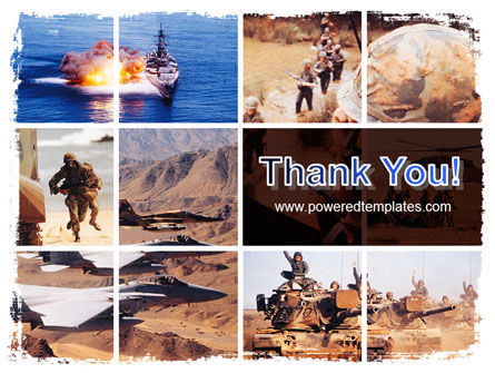 War Conflicts Collage PowerPoint Template Slide 20