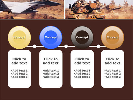 War Conflicts Collage PowerPoint Template Slide 5