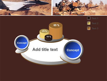 War Conflicts Collage PowerPoint Template Slide 6