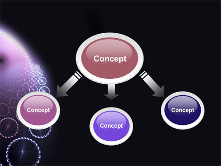 Violet Fantasy PowerPoint Template Slide 4