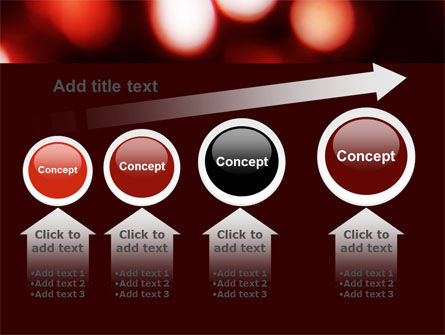 Red Lights PowerPoint Template Slide 13