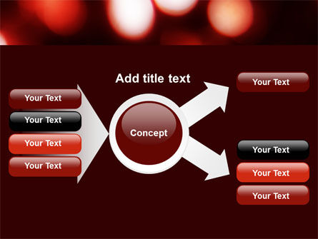 Red Lights PowerPoint Template Slide 14