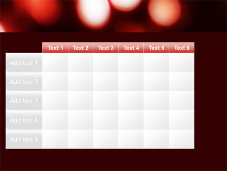 Red Lights PowerPoint Template Slide 15