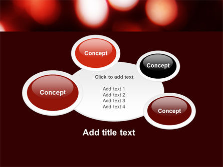 Red Lights PowerPoint Template Slide 16